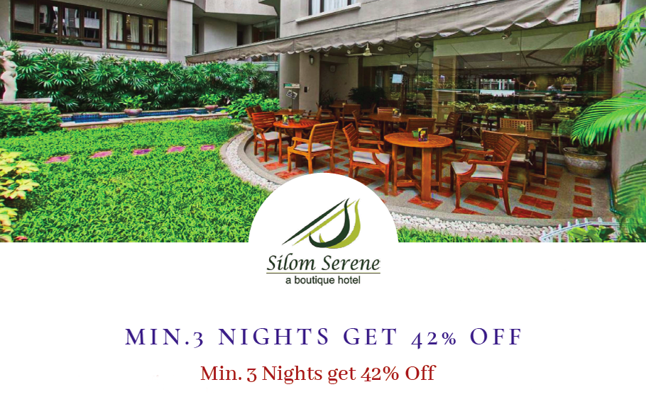 Min 3 Nights get 42% Off