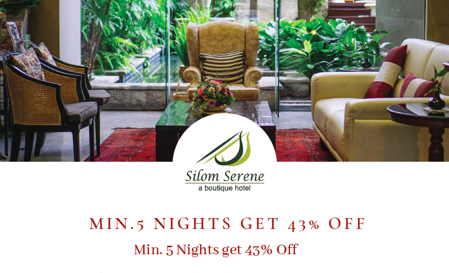 Min 5 Nights get 43% Off