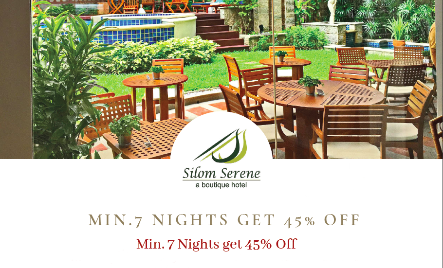 Min 7 Nights get 45% Off