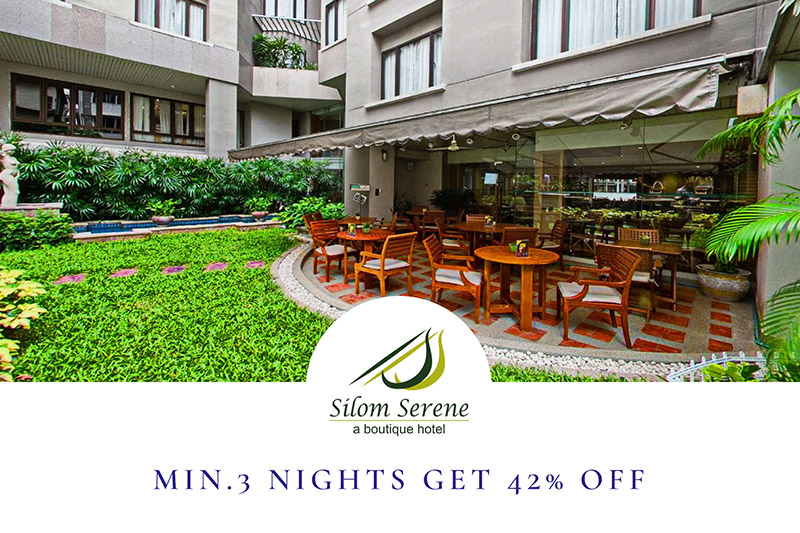 Min. 3 Nights get 42% Off