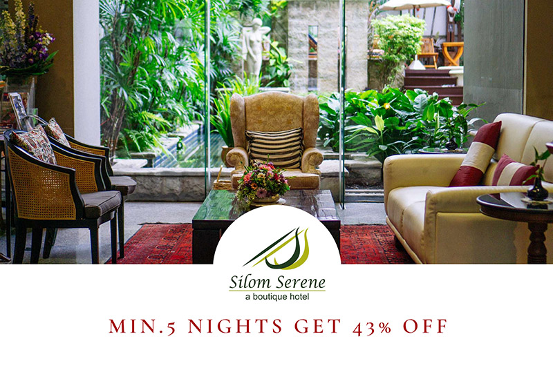 Min. 5 Nights get 43% Off