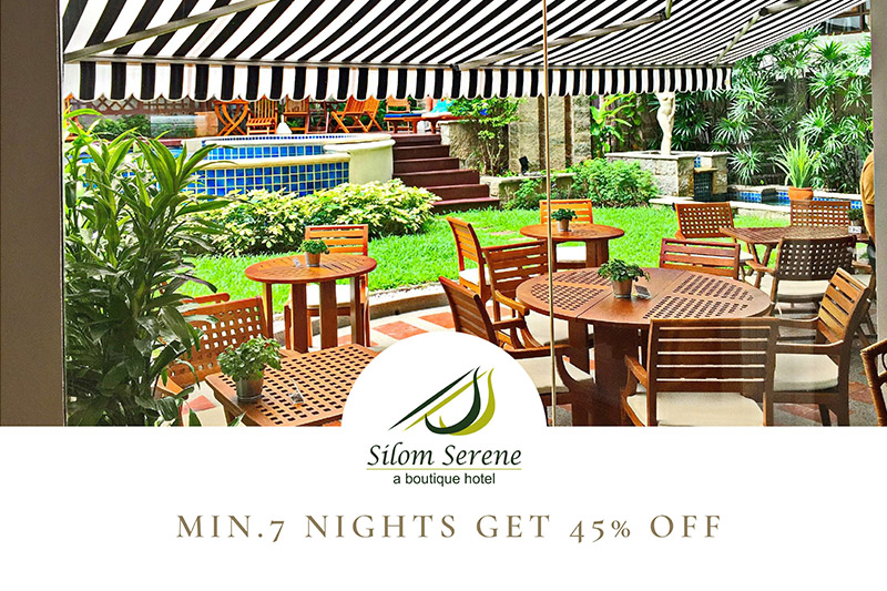 Min. 7 Nights get 45% Off