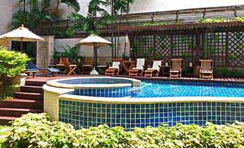Panoramic view of our Boutique hotel in Bangkok
